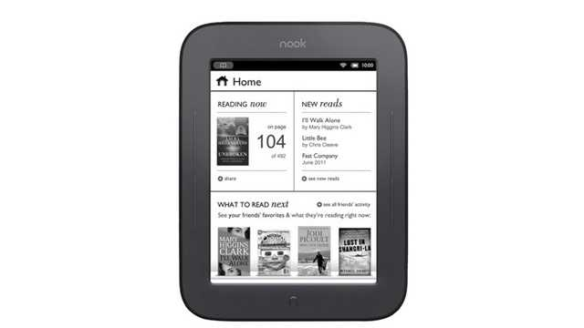 The Nook simple touch e-reader will go for $49.