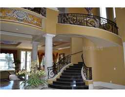 Royal winding staircase.