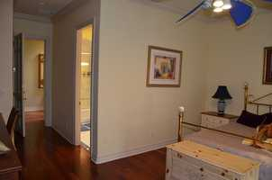 Hardwood floors throughout the home.