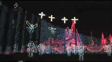 The Osborne Family Spectacle of Dancing Lights started modestly in Arkansas as a single home's annual display.