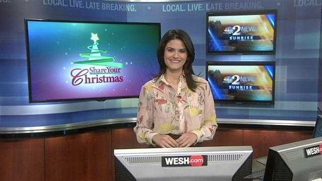 WESH 2 wants you to join us for Share Your Christmas 2012, our 27th year of making the holiday season brighter for local families in need.