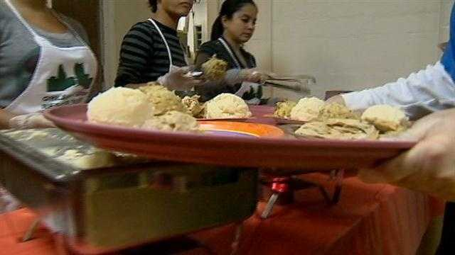The local rescue mission is making sure no one goes hungry this Thanksgiving.