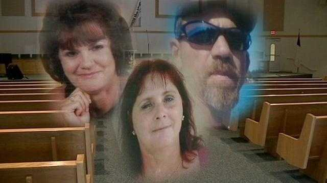 An Orange County woman laid to rest three family members Monday.
