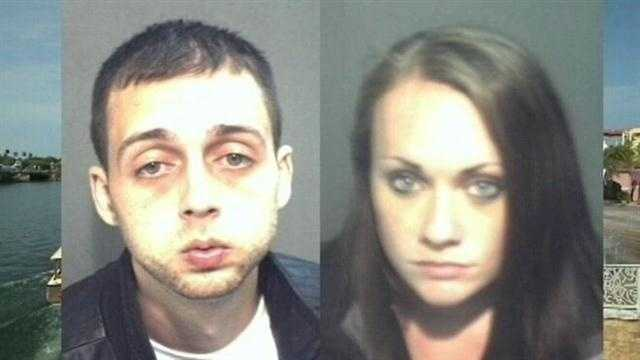 A man and woman wanted for child abuse in New Hampshire were put behind bars in Orlando on Wednesday.