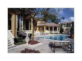 Beautifully designed pool area.