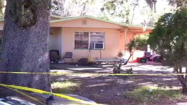 Raw Video: Man found slain in Daytona Beach home