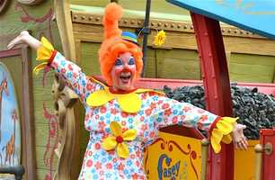 """Inspired by everything from the movie """"Dumbo"""" to the music of Spike Jones, the Storybook Circus Giggle Gang also has its roots in the classic traditions of The Greatest Show on Earth."""