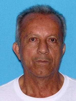 Gilberto Gaviria is wanted on charges of grand theft.  He is believed to be in Miami or Colombia.