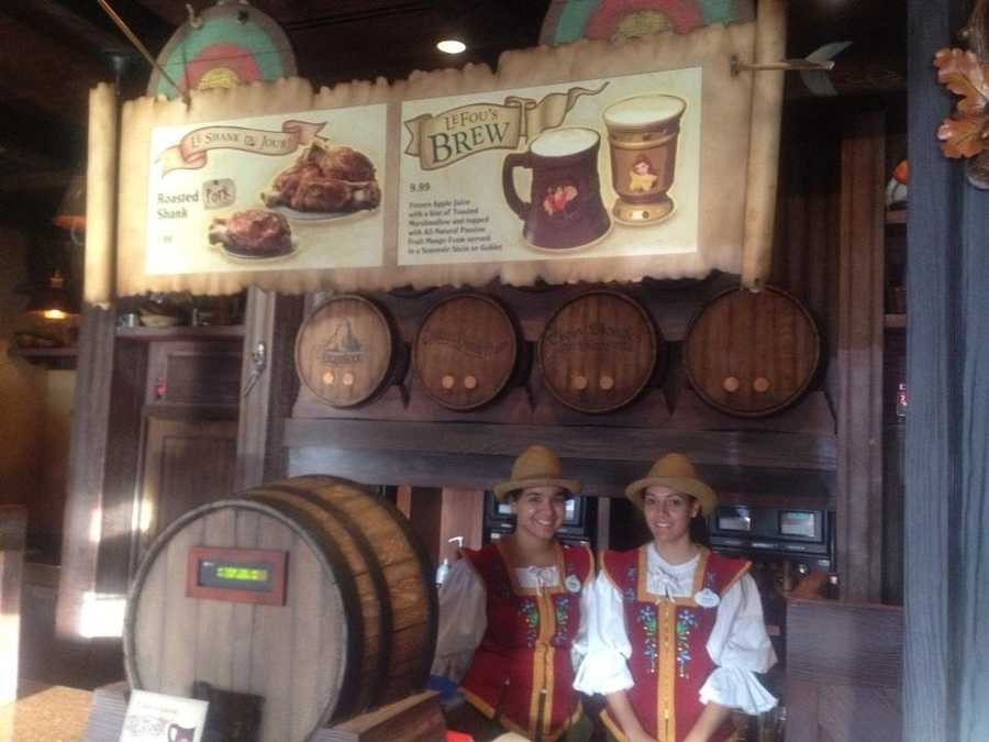 LeFou's brew masters are ready to serve up some fresh brew.
