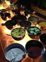 Make-your-own salad bar.
