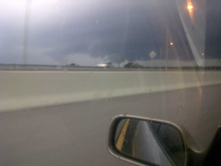 Funnel cloud on State Road 429 near State Road 414.