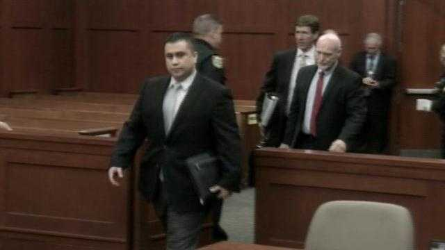 Attorneys for George Zimmerman asked a judge to hear several motions in the case Tuesday.