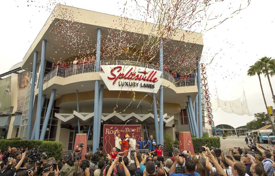 The upscale, retro-style bowling venue, Splitsville, will be the largest in the bowling brand's fleet and will open at Downtown Disney at Walt Disney World Resort.