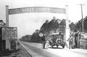 Baker (1861) - James McNair Baker, Fourth Municipal District, Confederate Senator.