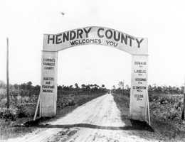 Hendry (1923) -- Captain Francis A. Hendry, one of the first settlers