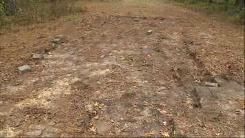 Sheriff's detectives have a real whodunit on their hands after a Marion County woman came home and found her driveway missing.