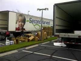 We hope to fill these trucks with food! Come see us today at 1021 N. Wymore Road, Winter Park until 1 p.m.