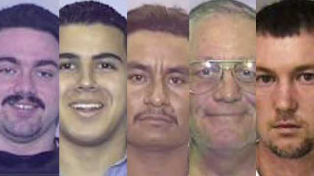The Florida Highway Patrol is seeking information about 15 men on its most wanted list. Can you help find these men?