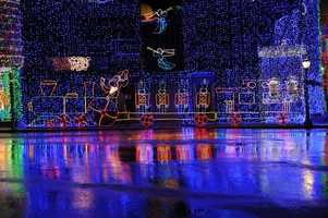 The Osborne Family Spectacle of Dancing Lights offers millions of lights, animated holiday displays and seasonal music included in park admission.