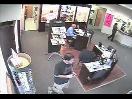 Police in Rockledge are looking for a man seen on surveillance tape stealing pricey sunglasses.