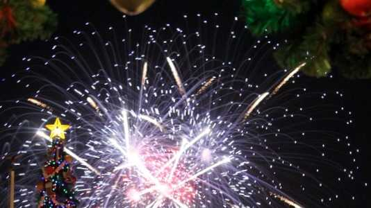 Holidya Fireworks Magic Kingdom.JPG