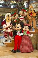 "Dreaming of a white Christmas on the high-seas?  Disney Cruise Line has decked the ""raft-ers"" with holiday cheer."