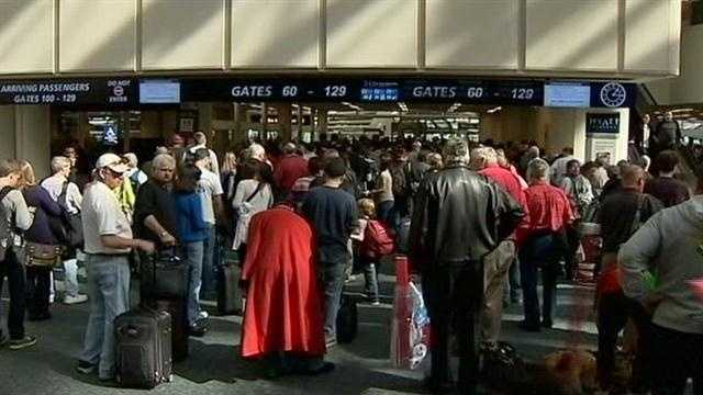 Holiday travelers may have to spend some extra time at the Orlando airport this holiday season.