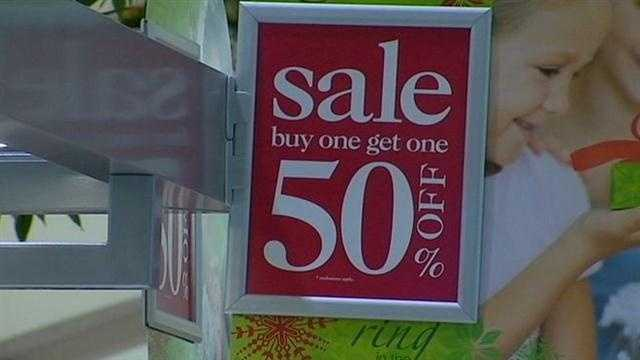 Holiday shopping blitz