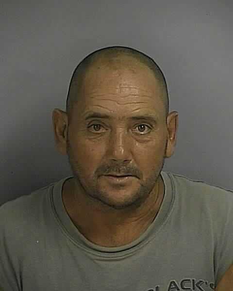 Bradley Gill: Resisting arrest.