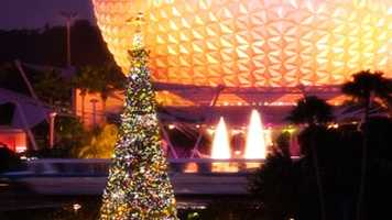 Holidays around the World & Candlelight Choir continues at Epcot through Dec. 30.