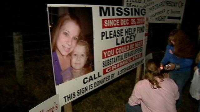 One year later family speaks out about the search for Lacey Beunfil.