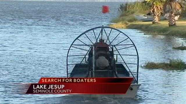 Search For Missing Boaters