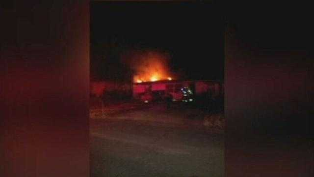 Family loses home to fire on New Year's