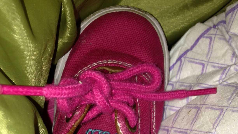 Meth in baby shoe