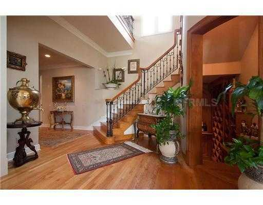 The home features a finished basement and wine cellar.