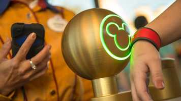 A new MagicBand is the key to unlocking the magic at Disney Parks. With one touch of their MagicBand, Guests can enter the parks and their resort room, access their Disney FastPass+ selections and PhotoPass and pay for merchandise and dining.