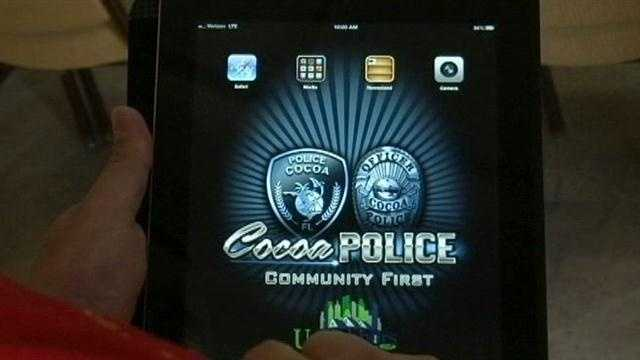 Police in Cocoa are encouraging residents to sign up to be notified what criminals are doing in their neighborhoods.