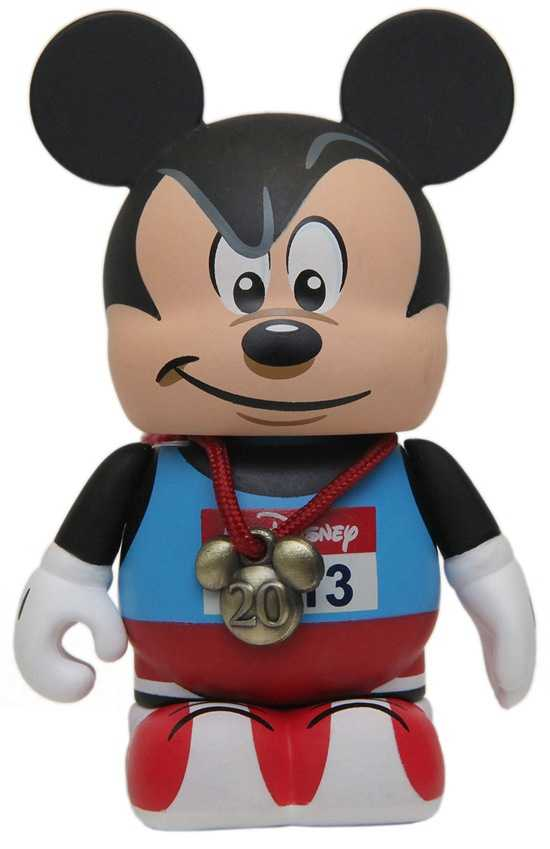 A new Vinylmation makes its debut for the marathon weekend.  The figure even has a spot for the runner to enter their race finishing time.