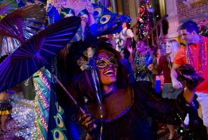 Universal Orlando announced its lineup for its annual Mardi Gras celebration beginning Feb. 9.