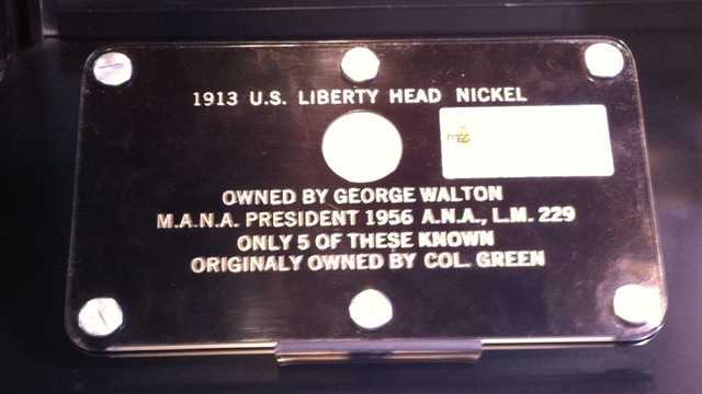 The coin is on public view at the Orange County Convention Center.