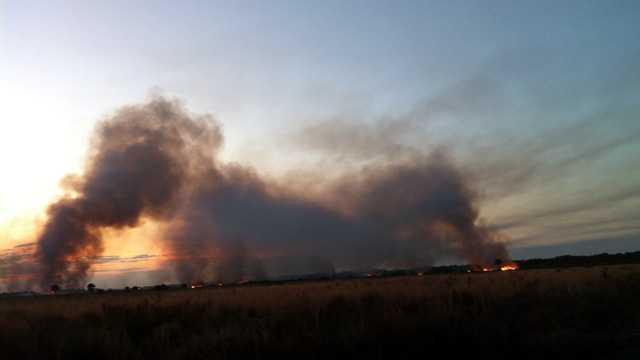 Port St. John brush fire