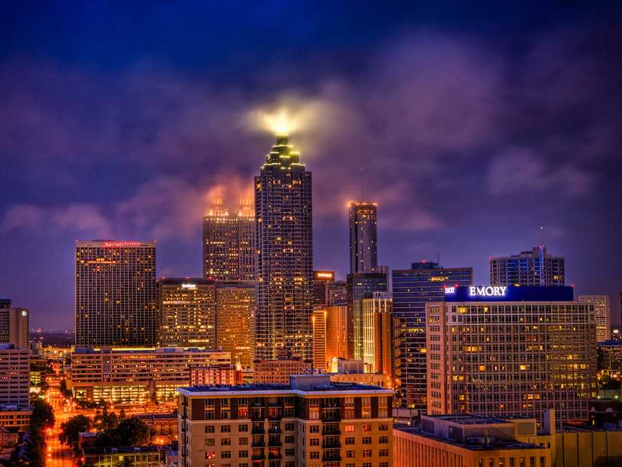 1. Atlanta, Georgia (Rank unchanged)