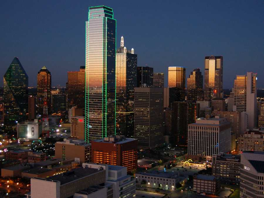 2. Dallas, Texas (Ranked 4 in 2012)