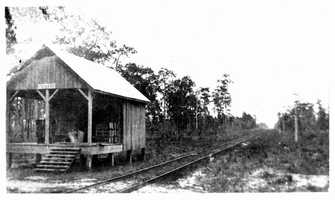 1916: Apopka train tracks