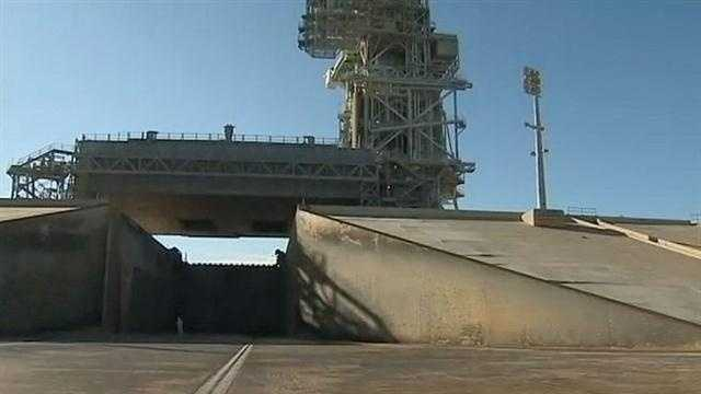NASA has just decided to abandon a historic structure -- the launch pad where the first journey to the moon began.