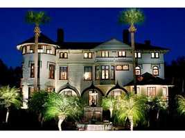 """The Stetson Mansion in DeLand was built in 1886 and is """"Florida's first luxury home,"""" according to the home's website."""