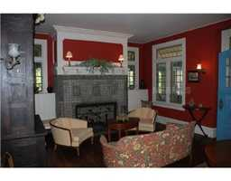 The house has 13 bedrooms, seven full baths, two half baths and 13 fireplaces.