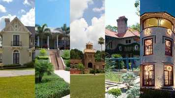 Take a tour of five unique, historic homes that are on the market in Central Florida. There are 10 pictures of each home.