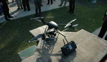 The drones will only be used for critical incidents and will not be used for spying, the sheriff's office said.