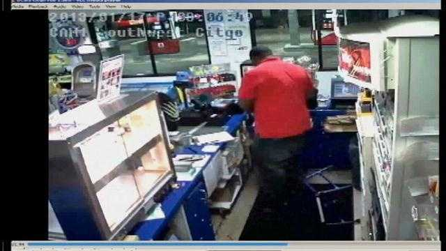 Raw Video: Search on for armed robber in Ocala
